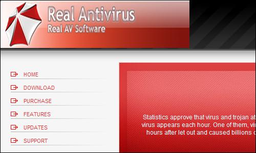 Rogue Real Antivirus