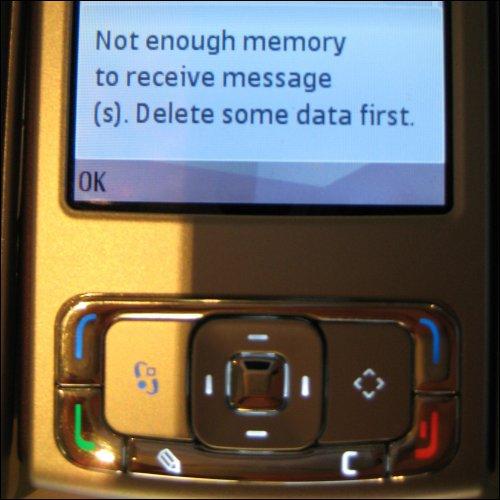 SMS Curse Error