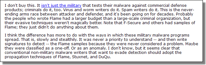 Schneier Security, June 2012