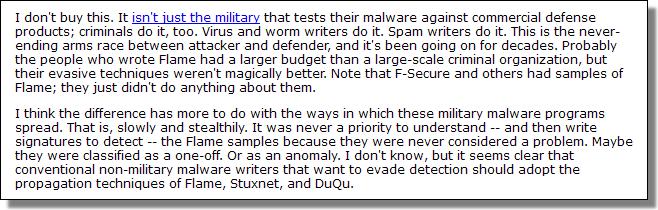 Schneier Security, June 2012