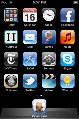 SpoofCard Web App