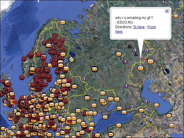 Stats, Google Earth Image