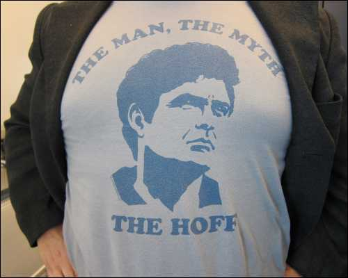 The Hoff t-shirt