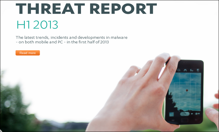F-Secure Threat Report H1 2013
