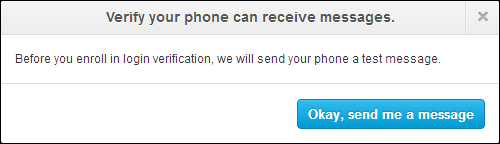 Twitter's SMS 2FA