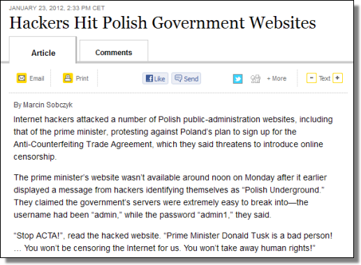 http://blogs.wsj.com/emergingeurope/2012/01/23/hackers-hit-polish-government-websites/?mod=wsj_share_twitter