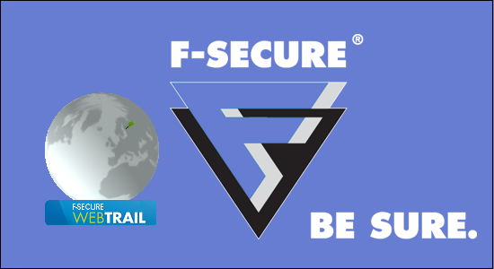 F-Secure Web Trail