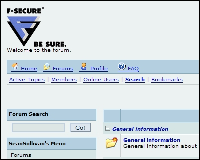 F-Secure Forum
