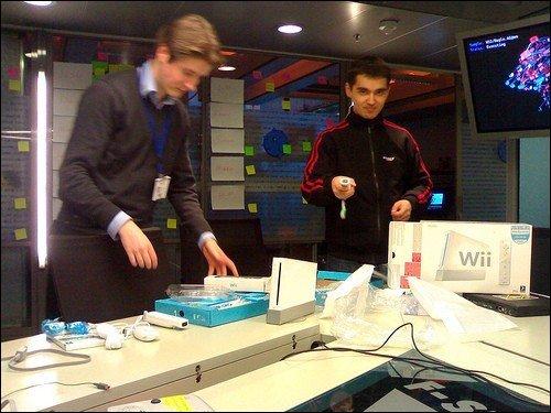 Helsinki Lab's Wii