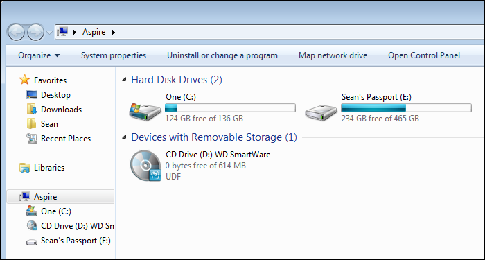 Windows 7, Virtual CD