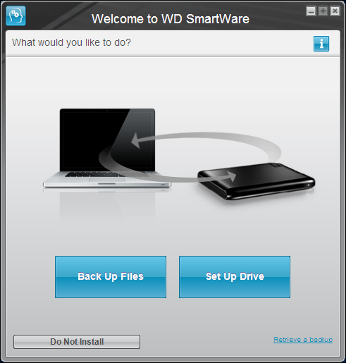Welcome to WD SmartWare