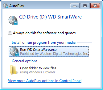 Windows 7 AutoPlay and Virtual CD