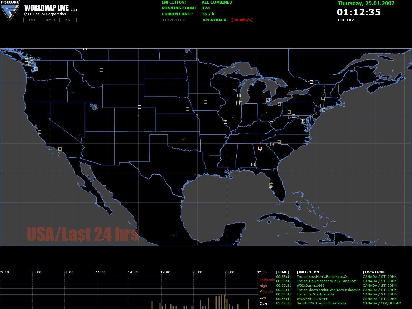 Usa Map Desktop