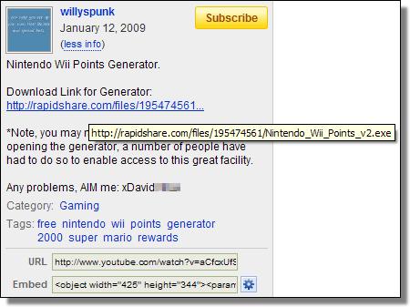 YouTube, willyspunk