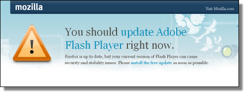 You Should Update Your Flash