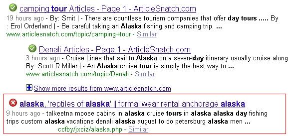 Alaska SEO, Google