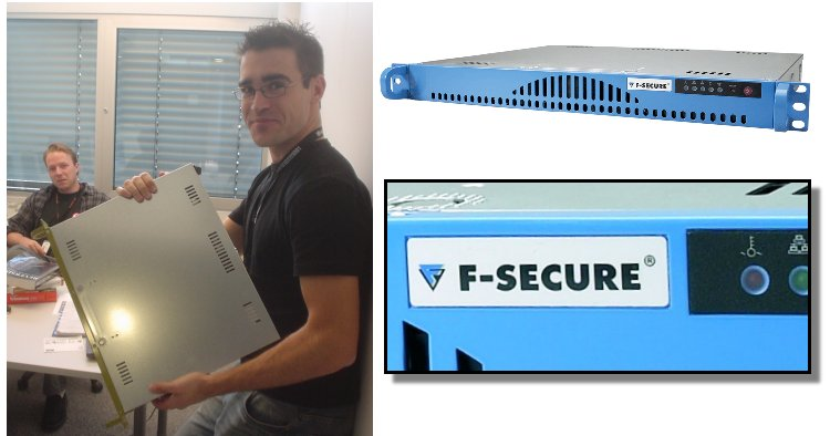 Jarkko & Ero & F-Secure Messaging Security Gateway