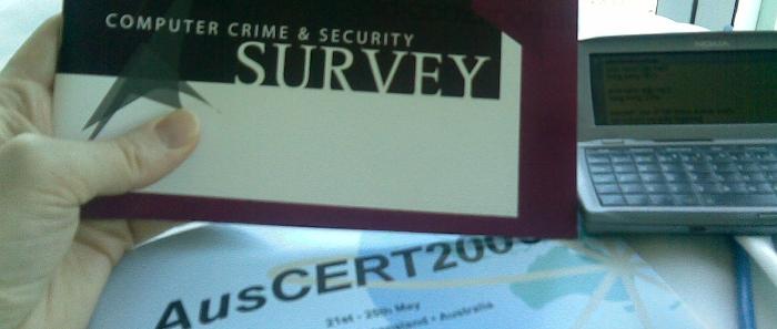 Computer crime survey