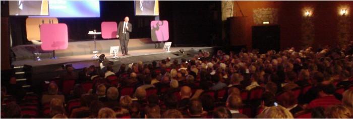 Steve Ballmer on stage