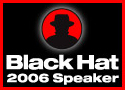 Black Hat speaker button