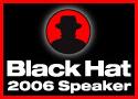 Black Hat speaker button