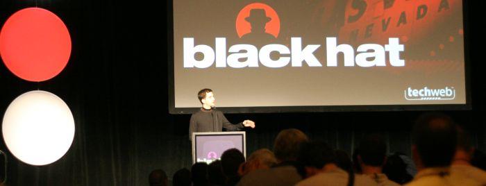 Jeff Moss opening BlackHat 2009