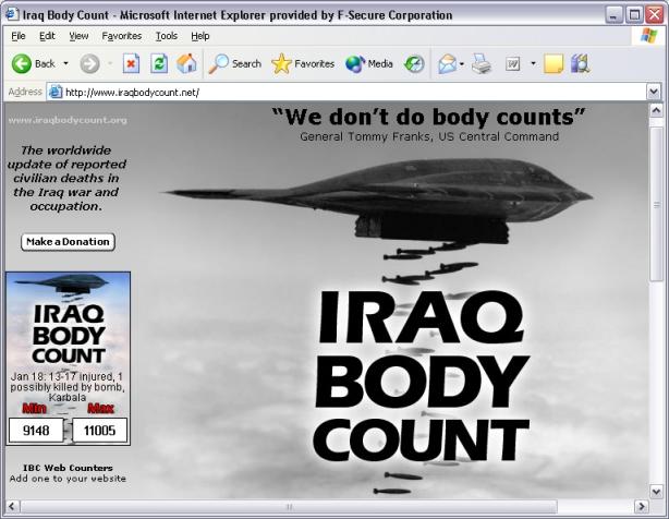 www.iraqbodycount.net