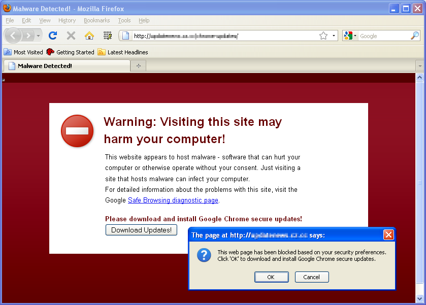 Malware Detected!