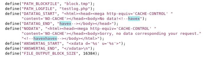 Havex server source code