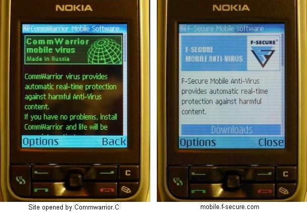 cwinfo........ru vs mobile.f-secure.com