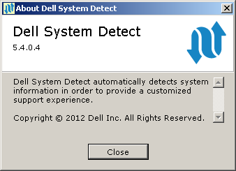 Dell System Detect 5.4.0.4