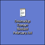 Downadup Domain Blocklist Feb. 2009