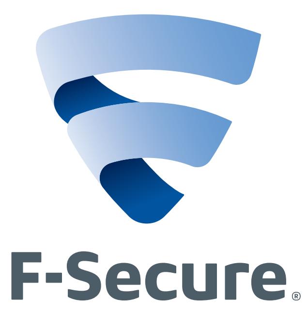 F-Secure logo. Click for a cooler 3D version