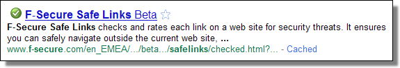 F-Secure Safe Links beta