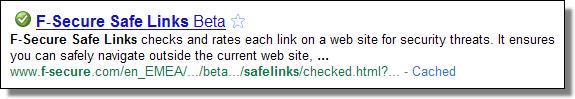 F-Secure Safe Links beta