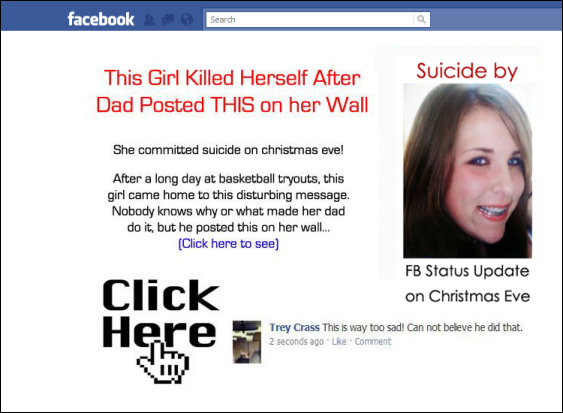 This Girl Killed Herself After Dad Posted THIS on her Wall