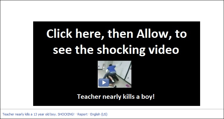 Teacher nearly kills a boy