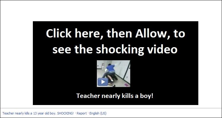 Teacher nearly kills a boy