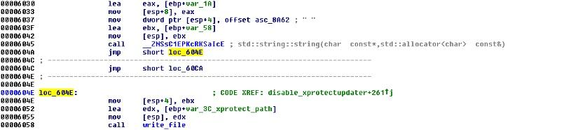 wipe_xprotectupdater, Trojan-Downloader:OSX/Flashback.C