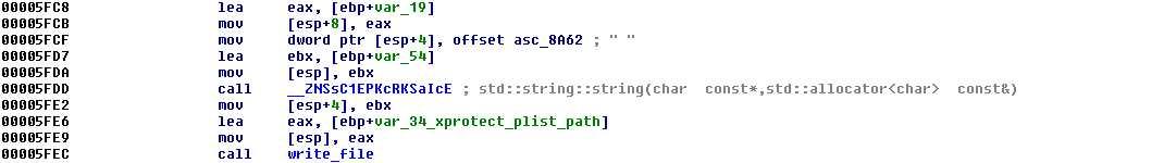 wipe_xprotectupdater_plist, Trojan-Downloader:OSX/Flashback.C