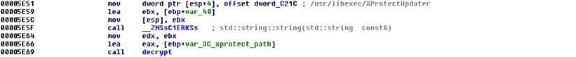 xprotectupdater, Trojan-Downloader:OSX/Flashback.C