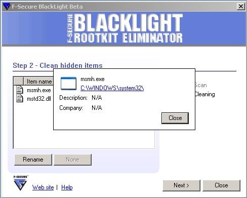 BlackLight detecting Feebs