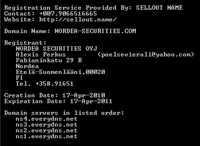 nordea-securities alexis perkus poelsevierali@yahoo.com