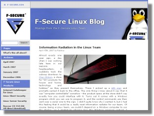F-Secure Linux Blog