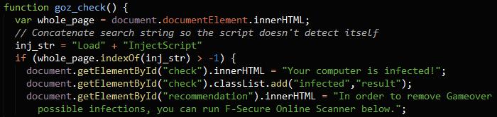 goz_check function
