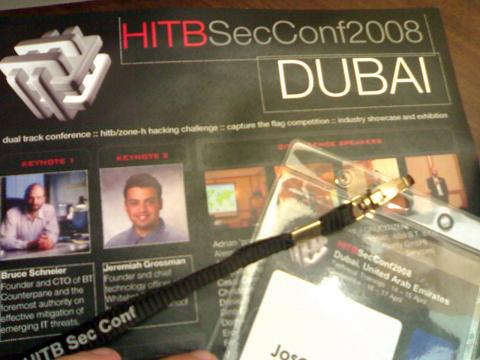 Hack In The Box Dubai 2008
