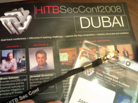 Hack In The Box Dubai 2008