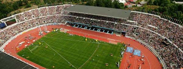 Helsinki Olympic stadium. Picture (c) IAAF - www.iaaf.org/WCH05/multimedia - all rights reserved
