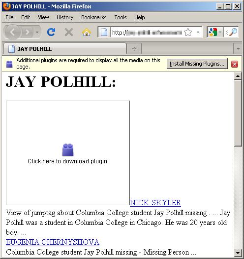Jay Polhill HTML