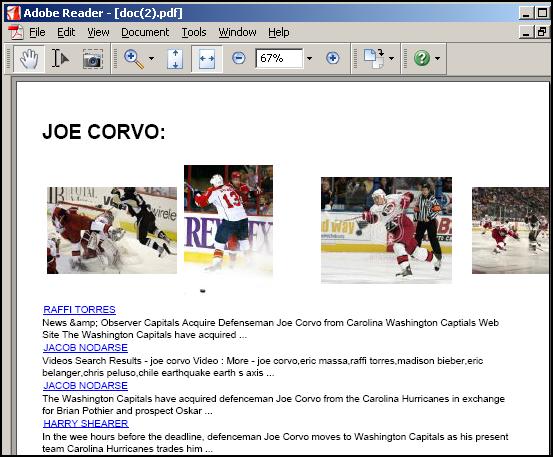 Joe Corvo PDF